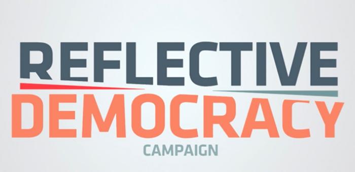 Reflective Democracy Campaign logo